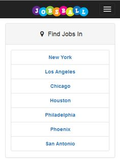 Find and apply for jobs from across the USA www.jobsball.co.uk online and android app