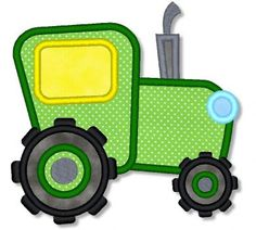 Tractor Applique 4x4 5x7 6x10