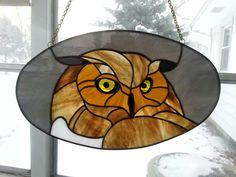 Hwnsen Stained Glass Birds, Stained Glass Suncatchers, Stained Glass Projects, Stained Glass Patterns, Tiffany, Transom Windows, Mosaic Mirrors, Glass Animals, Owls