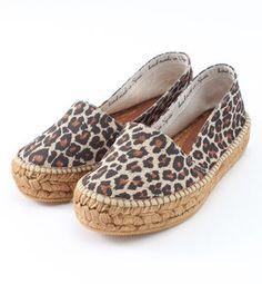 Leopard espadrille / ShopStyle(ショップスタイル):+Ships フォーウィメンGAIMO:エスパドリーユ