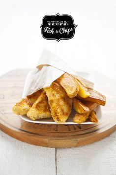 100 % Végétal: Vegan fish & chips !