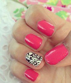Bethany mota spring nails