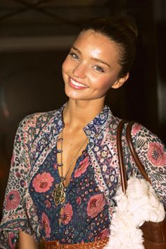 Miranda Kerr. Love her and her outfit