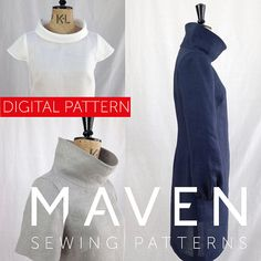 The French Dart Shift is a PDF sewing pattern by Maven Patterns. This pattern is available to print at home by instant download, immediately after completing checkout. SKILL LEVEL: ADVANCED BEGINNER The French Dart Shift Tunic is about to become the hero of your wardrobe! Designed as
