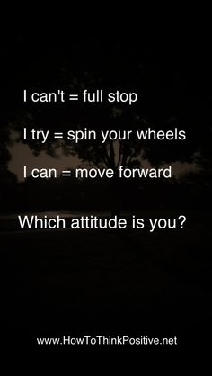 Can Do Attitude  #quotes #loa #inspiration #motivation