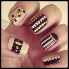 Sophisticate nails design