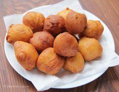 Gogosi cu iaurt - Desert De Casa - Maria Popa Delicious Deserts, Healthy Desserts, Pretzel Bites, Donuts, Sweets, Bread, Candy, Drink, Food