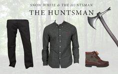 Snow White & The Huntsman Look 2 - The Huntsman:  Ralph Lauren Dark Green Slim Fit Check Shirt £95 http://www.miinto.co.uk/p-13256-ralph-lauren-dark-green-slim-fit-check-shirt  Hugo Boss Orange Pocket Jeans £98.99 http://www.miinto.co.uk/p-4446-hugo-boss-orange-25-regular-fit-5-pocket-jeans  Timberland Traditional Hand Sewn Waterproof Boot £160 http://www.miinto.co.uk/p-3140-timberland-traditional-hand-sewn-waterproof-boot