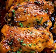 Paprika Baked Chicken Thighs - the recipes Easy Soup Recipes, Easy Chicken Recipes, Beef Recipes, Dinner Recipes, Simple Recipes, Holiday Recipes, Baked Chicken Seasoning, Fried Chicken, Chicken Pasta