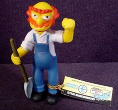 b4a55e9a87f70 The Simpsons Groundskeeper Willie PVC Figure With Tag 3 1 4