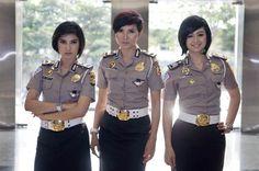 Bidadari Cantik di Kepolisian