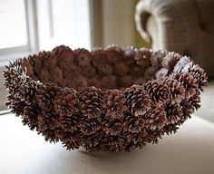 DIY Pine Cone Heart - Pine Cones are a great material for wreaths. Online source and sale of pine cones and pine needles. Pine cones for crafts, art and decor. Heart Shaped Pine Cone Wreath Rustic decor Wreath by F Nature Crafts, Fall Crafts, Home Crafts, Crafts To Make, Arts And Crafts, Paper Crafts, Diy Crafts, Pine Cone Art, Pine Cone Crafts