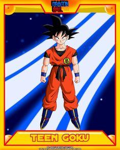 DB-Teen Goku V2 by el-maky-z on DeviantArt