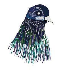 Pigeon Head, 2013.  www.joshuajohnwilson.com
