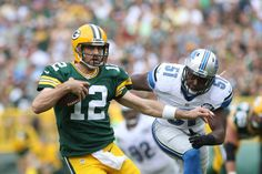 Recent and ancient history make the Packers favorites to steal the NFC North = The last time the Detroit Lions hosted a postseason game, they faced the Green Bay Packers. It won't be an official playoff game at Ford Field when the teams meet on New Year's Day, but the odds are.....