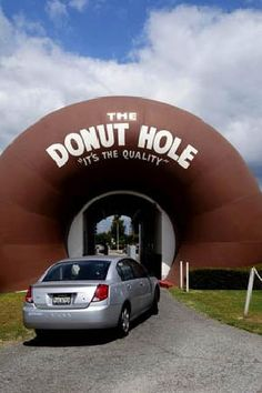 The Donut Hole, La Puente, Los Angeles, California