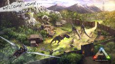 Nice ark survival evolved base