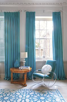 urquoise bedrooms, Teal teen bedrooms, Teen bedroom ideas for girls teal, Turquoise bedroom paint, Turquoise bedrooms and Turquoise bedroom decor. White Living Room, Modern White Living Room, Blue Living Room Decor, Curtains Living Room, Living Room Window Decor, Interior, Teal Curtains