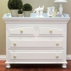 Newport Cottages Curved Changer Dresser...If the changing table part comes off I would get this in a heartbeat