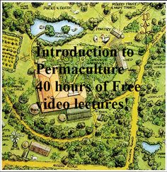 Hours of free permaculture lectures, links to ebooks, and a great reading list. http://www.permaculture-media-download.com/2011/09/introduction-to-permaculture-40-hours.html