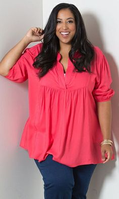 Emmylou Tunic (Miami) $49.90 by SWAK Designs #swakdesigns #Curvy #PlusSize