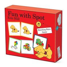Fun With Spot matching pairs game Ginger Fox Ltd