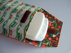 """This free sewing pattern is for a """"Diaper Clutch"""". Makes a great gift for new parents!"""