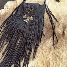 Hey, I found this really awesome Etsy listing at https://www.etsy.com/listing/187583176/suede-leather-fringe-bag-03