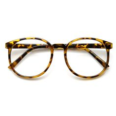 Vintage Large P-3 Circa 1990s Clear Lens Spectacle Eye Glasses