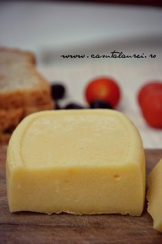 Cascaval de casa How To Make Your Own Recipe, Food To Make, My Favorite Food, Favorite Recipes, Cheese Maker, Romanian Food, Pastry Cake, Chutney, Baby Food Recipes