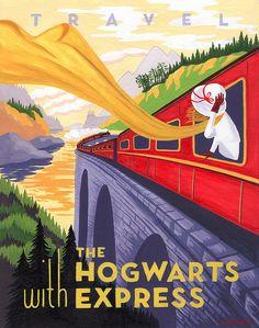 19 Gorgeous Retro Travel Posters To Fantasy Destinations.