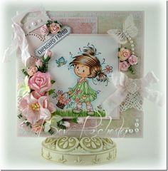 Whimsy Stamps mini blog hop, and a Wee cute too!