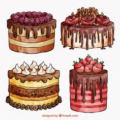 Awesome Image of Birthday Cake Drawing . Birthday Cake Drawing Greeting Card With Big Birthday Cake Contour Drawing Vector Cake Drawing, Contour Drawing, Desserts Drawing, Anime Cake, Cute Food Drawings, Dessert Illustration, Cake Vector, Watercolor Cake, Food Stickers