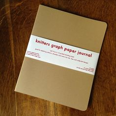 Knitters Graph Paper Journal | Fringe Supply Co.