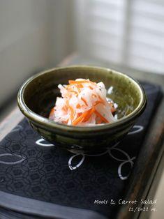 Recipe: Japanese Namasu, Vinegared Daikon Radish & Carrot for Osechi New Year Dish|大根とにんじんの生酢