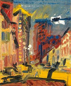 Frank Auerbach's 60-year love letter to London