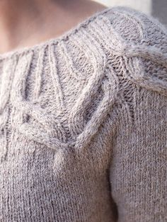 Ravelry: Forster pattern by Norah Gaughan - what great cables!