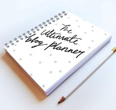 Our all-in-one A5 blog planner is the perfect way to keep both yourdaily life and blog contentorganised. Small enough to carry in your bag and easy to write o