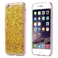 KISSCASE Luxury Bling Case For iPhone 6 6S Plus Glitter Paillette Sequin Phone Cases For iPhone 6S Plus Coque Clear Frame Cover