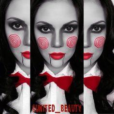 saw face paint halloween halloween pinterest face costumes and halloween ideas - Female Halloween Face Painting