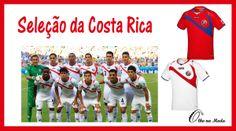 Uniforme da Seleção do Grupo D - Copa 2014...Brasil ...@olho_moda