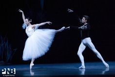 PNB principal dancers Kaori Nakamura and Lucien Postelwaite in Peter Boal's staging of Giselle.