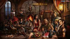 fantasy tavern - Google Search