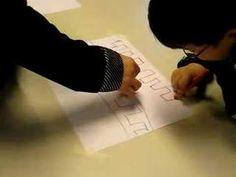 schrijfdansen - de robot op papier