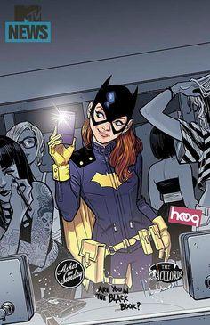 Batgirl change de look ! Urban Comics