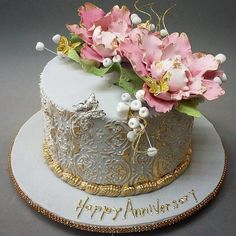 Image result for Anniversary Cakes