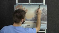Paint with Kevin - Beginning of Winter