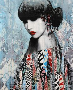 "Hush's ""Muse"" at Metro Gallery in Melbourne,... - SUPERSONIC ART"