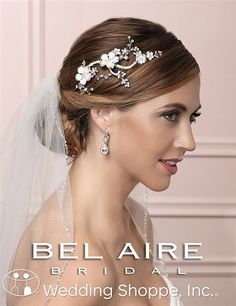Bel Aire Bridal Headpiece 6495