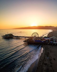 Santa Monica Pier California by santamonicaboardwalk by CaliforniaFeelings.com california cali LA CA SF SanDiego